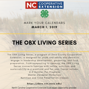 Cover photo for The OBX Living Series