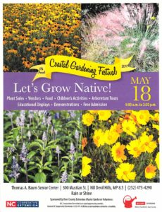 Cover photo for 17th Annual Coastal Gardening Festival