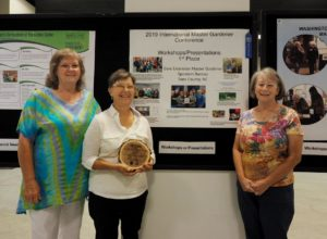 Cover photo for Master Gardeners Receive International Award!