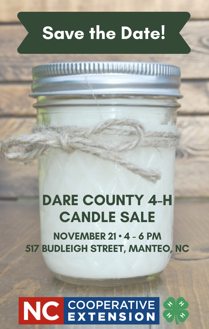 Candle sale flyer image