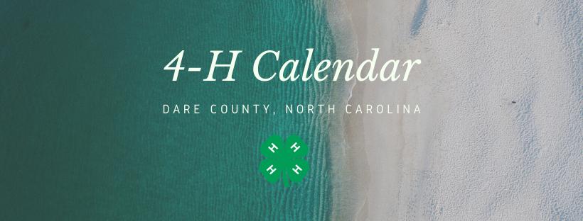 4-H Calendar banner