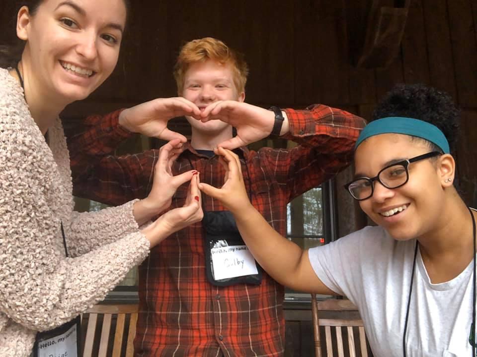 Image of teen retreat participants