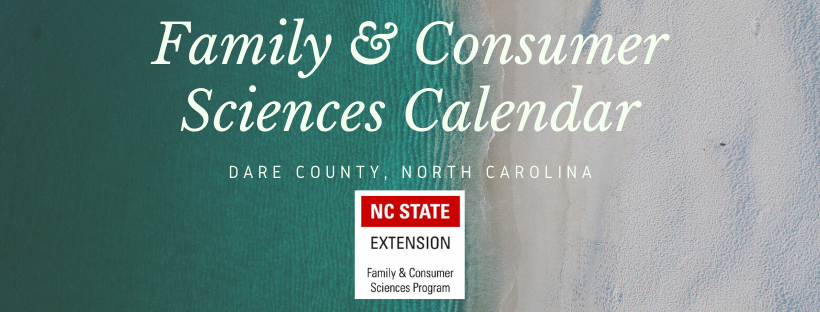 Family & Consumer Sciences Calendar banner