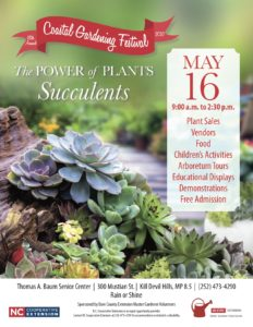 Cover photo for 18th Annual Coastal Gardening Festival, May 16