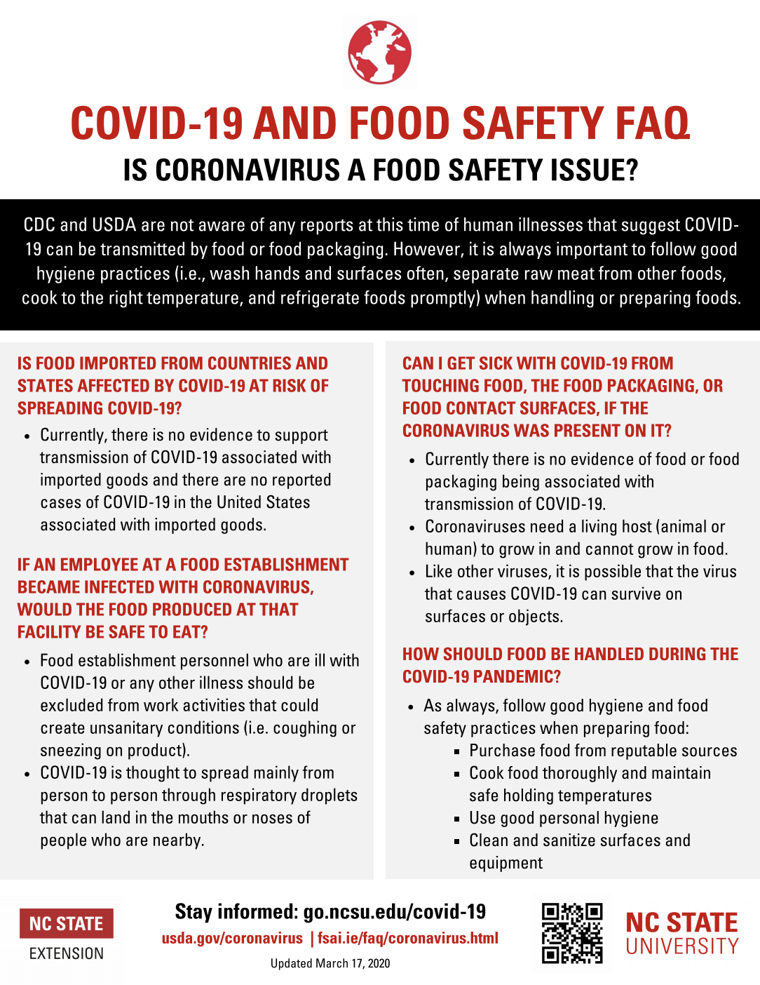 Food Safety flyer image