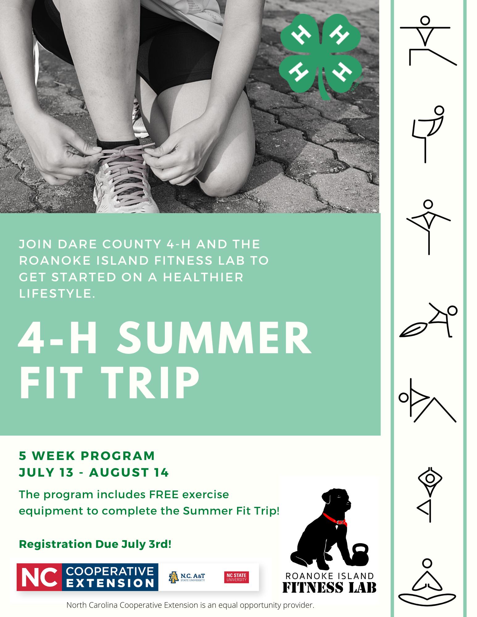 4-H Summer Fit Trip
