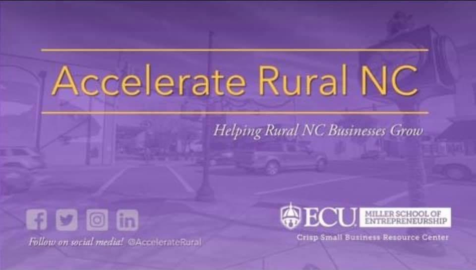 Accelerate Rural NC header image