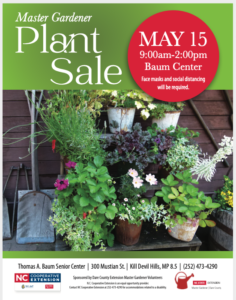 Cover photo for Save the Date: Master Gardener Volunteer Plant Sale May 15!