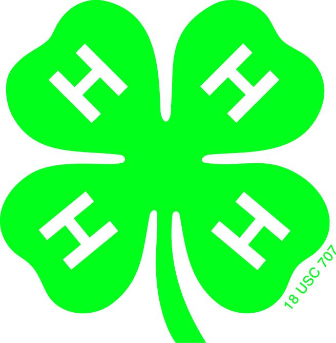 4-H clover logo