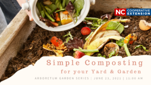 Cover photo for Arboretum Garden Series | Simple Composting for Your Yard & Garden