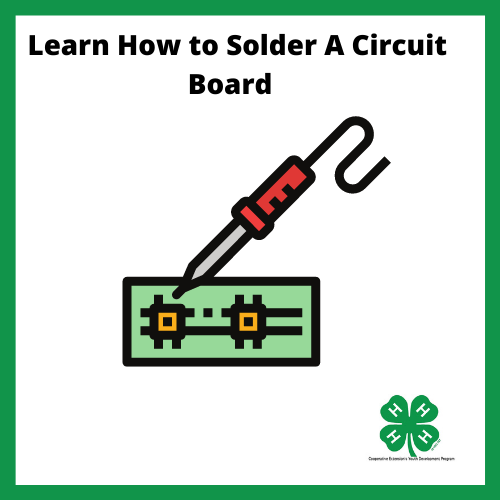 Drawing of a circuit board